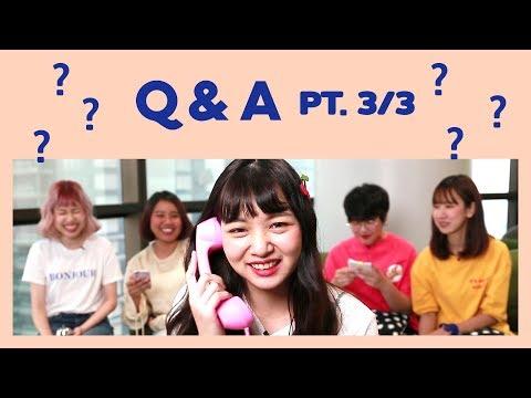 Q&A ถาม-ตอบด้วยความเร็ว 40 วินาที รู้จักพี่ๆ NUGIRL | PT.3/3 | NUGIRL TV - วันที่ 10 Nov 2018