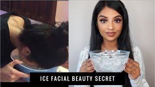 Testing Katrina Kaif's Ice Water Beauty Secret for a Week | Nivii06