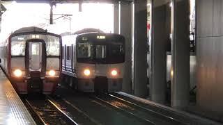鹿児島本線811系+817系快速列車2021年5月9日(日)15時37分頃
