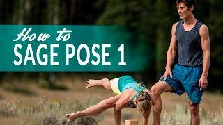 Yoga Today: How to do Twisted Scissor Pose