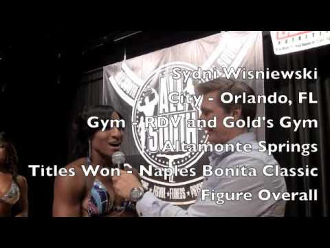 Sydni Wisniewski Women's Physique 2014 NPC All South