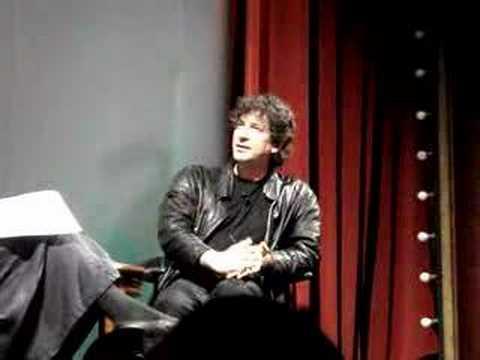 Neil Gaiman talks about Beowulf