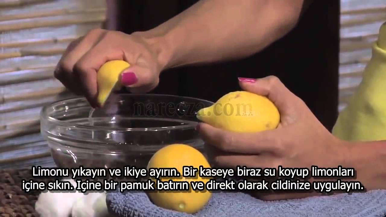 Limon Suyu ile Cilt Bakımı Nasıl Yapılır