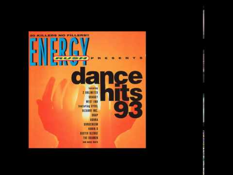 Various Artists - Energy Rush Presents Dance Hits 93 front cover
