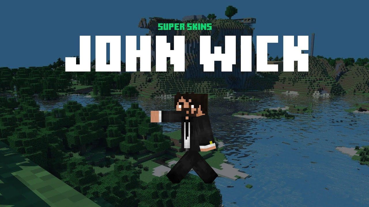 Free John Wick Minecraft Skin ⚡ Download Links ⚡ John Wick Skin for  Minecraft Gallery