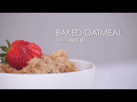 How to Make Delicious Baked Oatmeal | MyRecipes