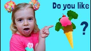 Do You Like Broccoli Ice Cream?  | Best Nursery Rhymes | Anabella Show