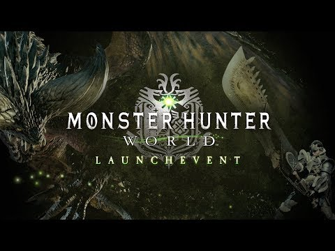 Monster Hunter World - Launch Event bei Rocket Beans TV