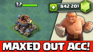 mit MAXED OUT ACCOUNT spielen! ★ Meisterhütte LEVEL 5! - UPDATE ★ 800k GEMS ★ Clash of Clans deutsch