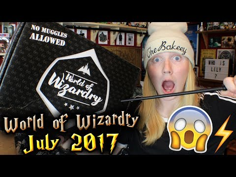 Thumbnail: Harry Potter - World of Wizardry Unboxing | July 2017 | Geek Gear
