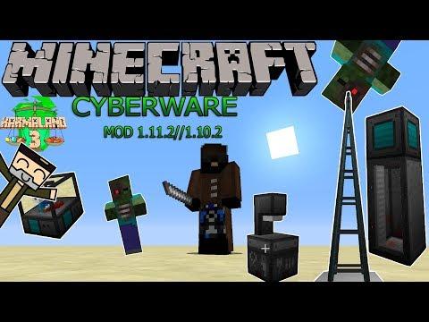 cyberware mod 1.12.2