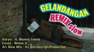 Dj Remix slow Gelandangan Roma Irama