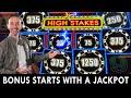 Bonus STARTS with a JACKPOT ⭐ High Stakes LIGHTNING LINK