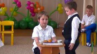 Смешной ученик Детские приколы Выпускной в детском саду Смешное видео Funny video Юмор Шутки