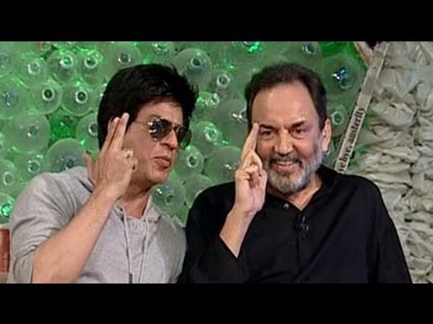 SRK turns acting teacher for Prannoy Roy