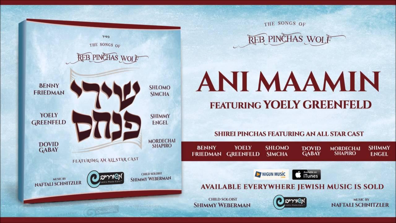 Shirei Pinchas: Ani Maamin - Yoely Greenfeld