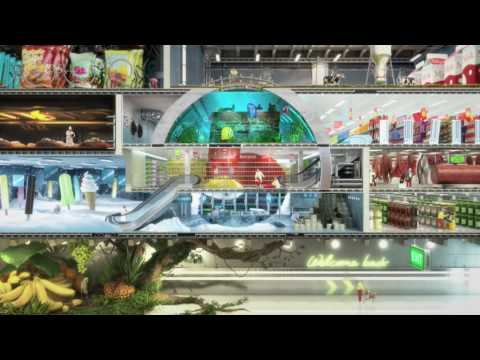 "Kanal 5 Channel ID 2009 ""Super Supermarket"" - Dallas Sthlm"