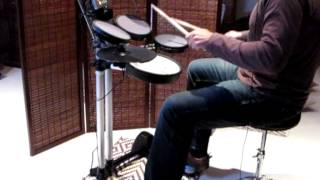 Depeche Mode - Personal Jesus [Astronaut2005 Drum cover] Roland HD-3 V-Drums