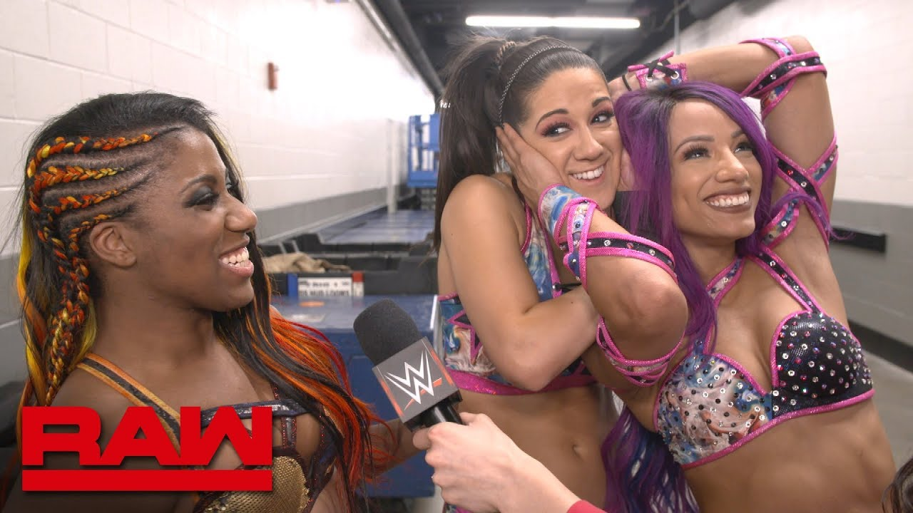 Bayley, Sasha Banks and Ember Moon on the WWE Women's Tag Team Titles: WWE Exclusive, Dec. 31,
