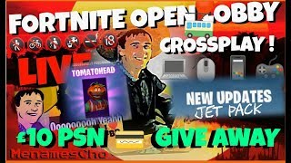 🆓MenamesCho's Live Ps4 🆓 PSN GIVE AWAY UK 💳 TOMATOHEAD 🍅 Fortnite Battle Royale 🍅 22 April UK
