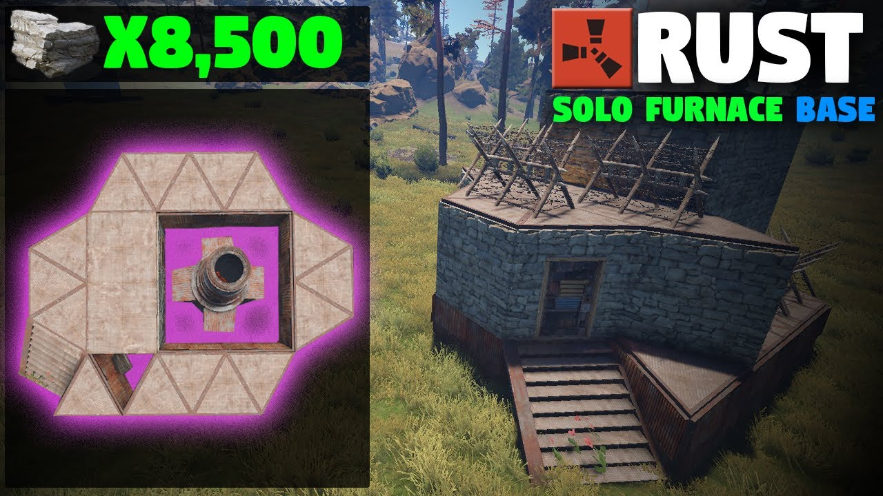 Cheapest solo large furnace base design how to rust base cheapest solo large furnace base design how to rust base building malvernweather Choice Image