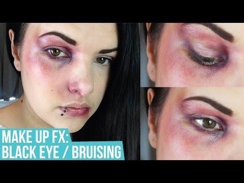 MAKEUP SFX: Black Eye / Bruising