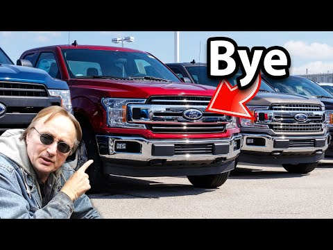 Here's Why Ford Won\'t Make F-150 Trucks Anymore