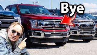 Here's Why Ford Won't Make F-150 Trucks Anymore