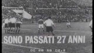Austria -  Italia 1-2_ 11 novembre 1962