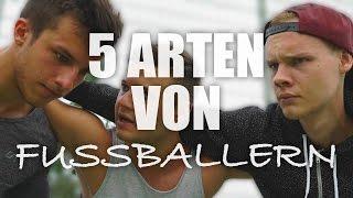 5 Arten von Fußball Spielern | mit Tim & Sascha | inscope21