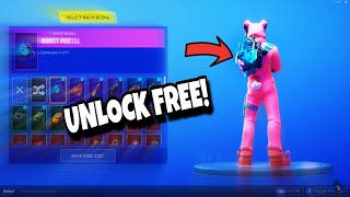 HOW TO GET THIS FREE BACK BLING!!! (Fortnite Battle Royale)