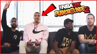 Playing Jayson Tatum & Ronnie 2K in NBA2K Playgrounds 2 ft. Troydan