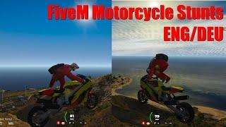 FiveM Motorcycle Stunts ENG/DEU