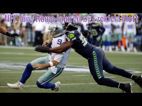 Dallas Cowboy vs vs Seattle Seahawks 27-17 highlights | NFL Tony Romo injured by Ezekiel Elliott