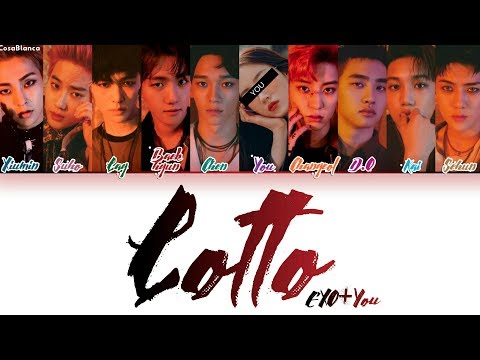 EXO (엑소) – Lotto [10 Members ver.] + You as member (Color Coded HAN ROM ENG)