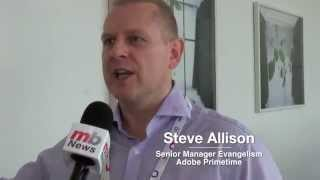 IBC 2014: Steve Allison, Adobe, about primetime solution