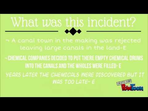 Love Canal: Chemical Waste