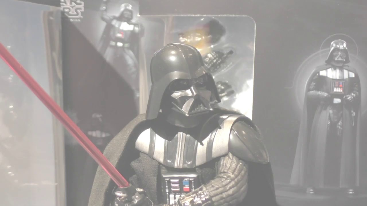 Star Wars The Black Series Hyperreal 8 Inch Darth Vader Figure And More First Look Youtube