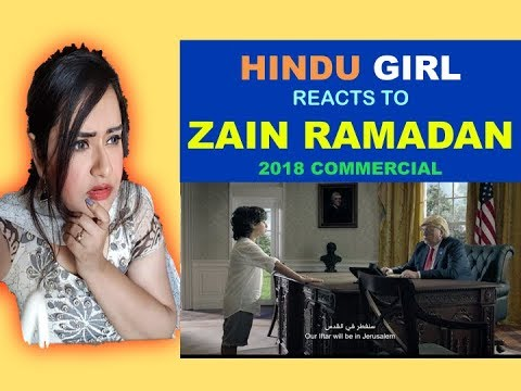 Hindu Girl Reacts To ZAIN RAMADAN 2018 COMMERCIAL - سيدي الرئيس | Zain Ramadan 2018 | Reaction |
