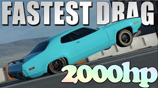 *FASTEST DRAG CAR IN FORZA 7* || 2000hp Drag Racing MONSTER