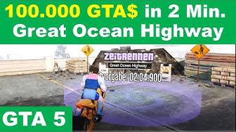gta 5 online Zeitrennen Great Ocean Highway