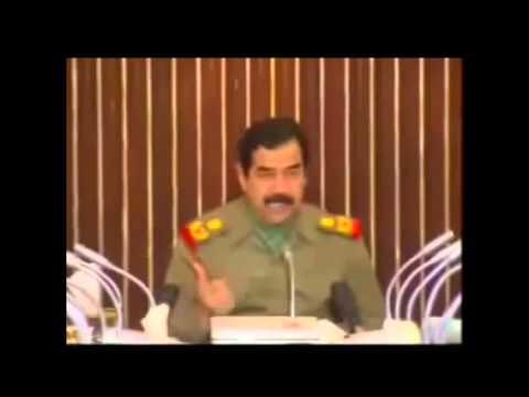 صدام والأكراد وحديث طويل من اجل المواطن