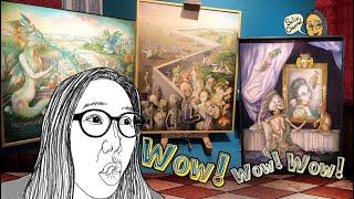 พาดูศิลปะเหนือจริง เซอร์เรียลริสม์หญิงเมืองไทย หม่อมหญิงมารศีฯ สุดยอดประทับใจมาก
