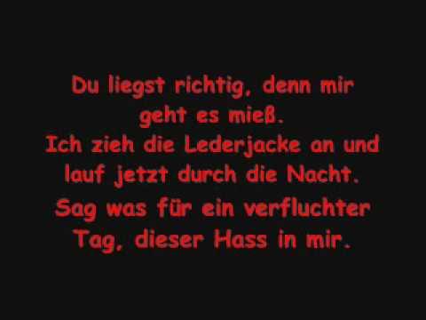 kay one - durch die nacht (lyrics)