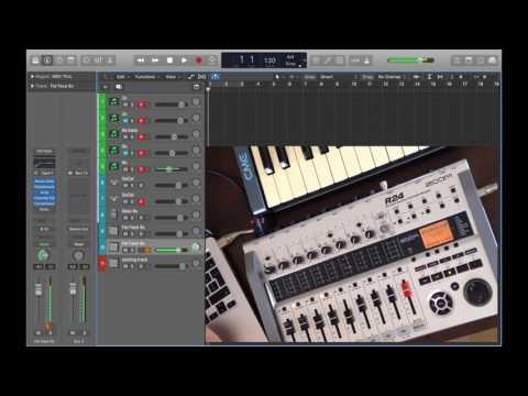 Logic Pro X - multitrack looper