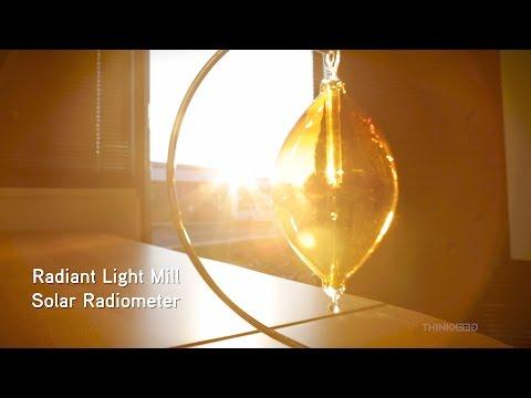 Radiant Light Mill - Solar Radiometer from ThinkGeek