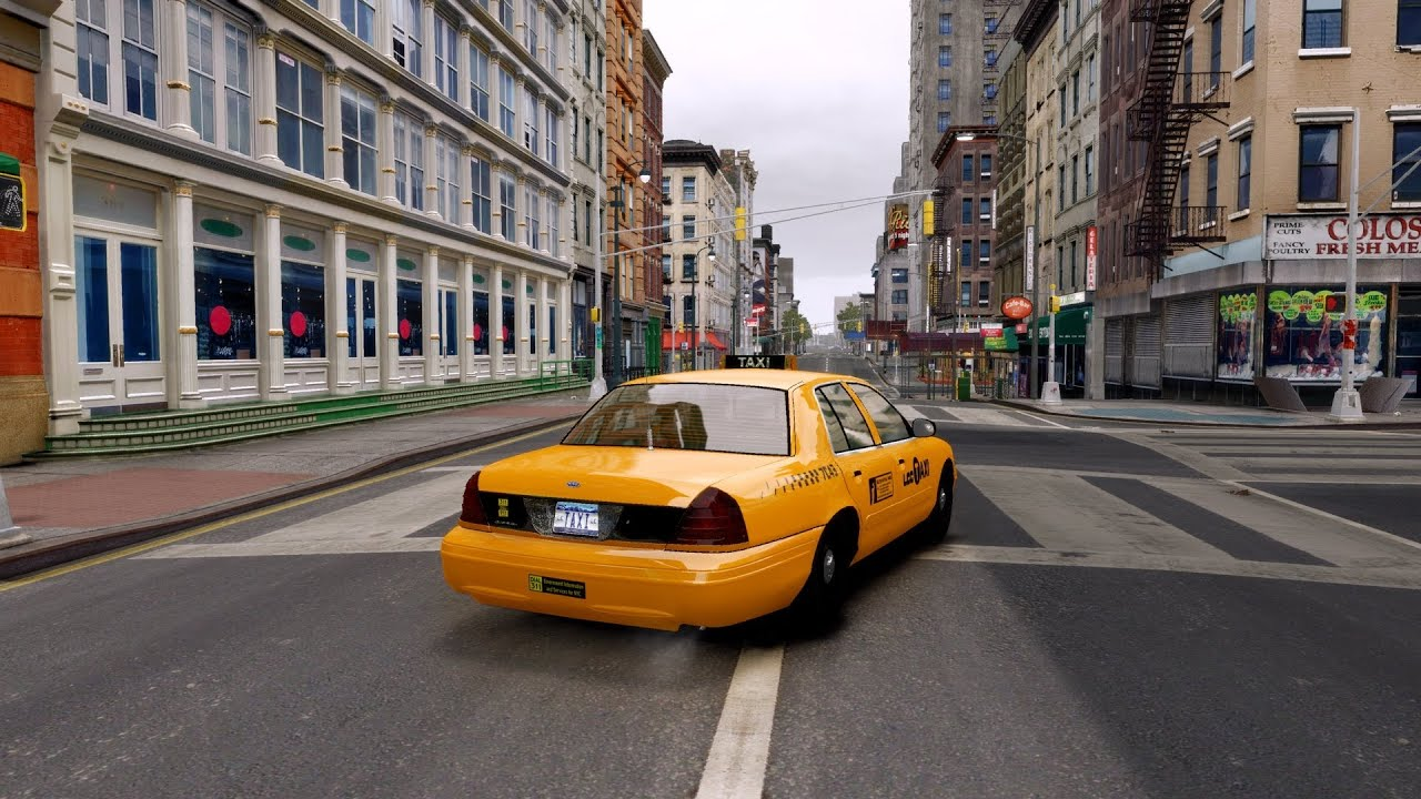 GTA IV Natural and Realistic Lighting Graphics mod (ENB