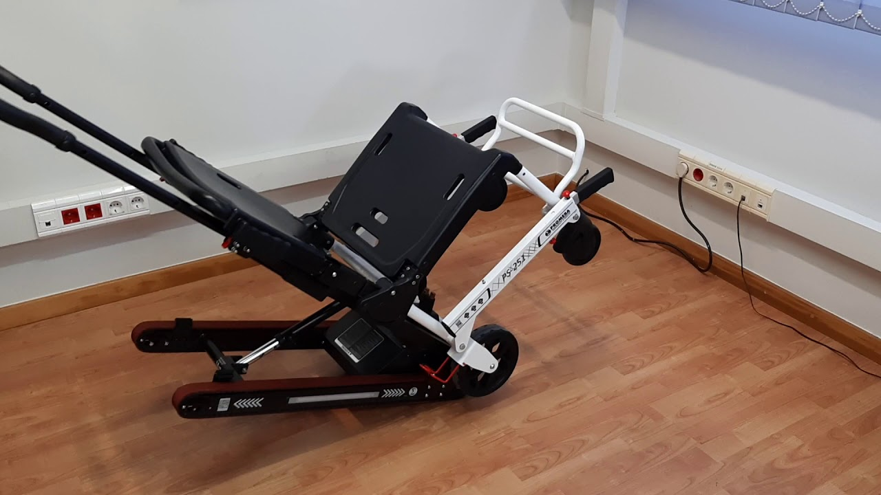 Power track for PS-250 emergency chair