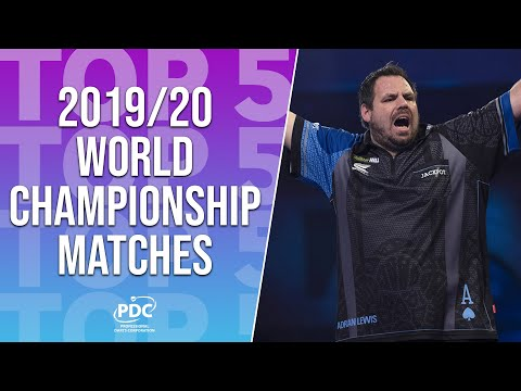 Top 5 Matches | 2019/20 World Darts Championship