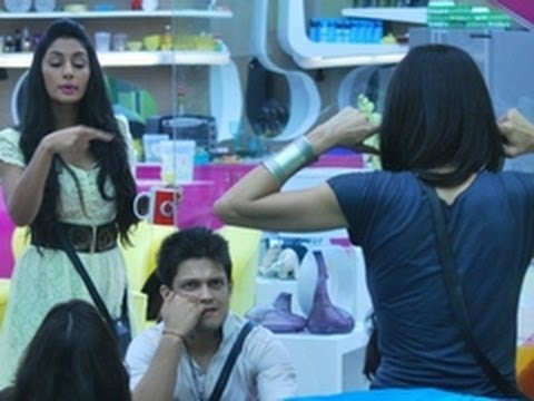 Bigg Boss 5 Mahek Fights with Housemates To Gain Attention